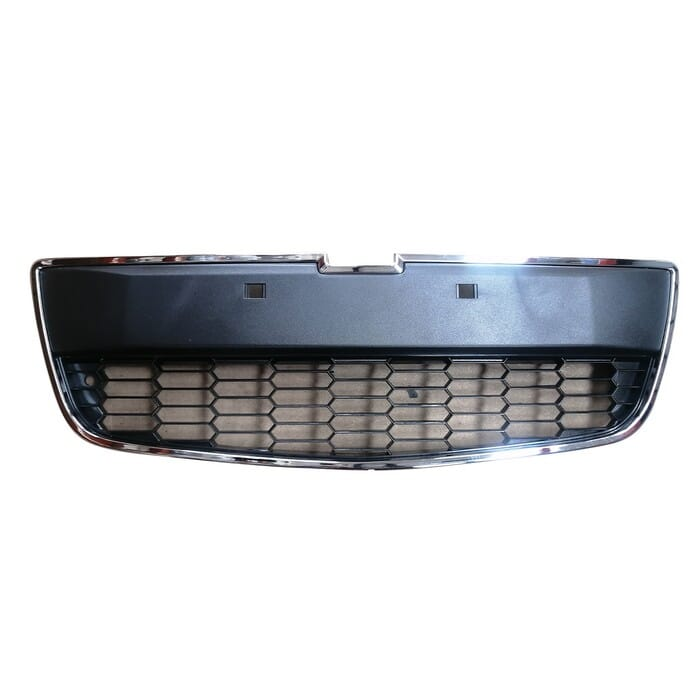 Chevrolet Sonic Front Centre Bumper Grill Takes Frame