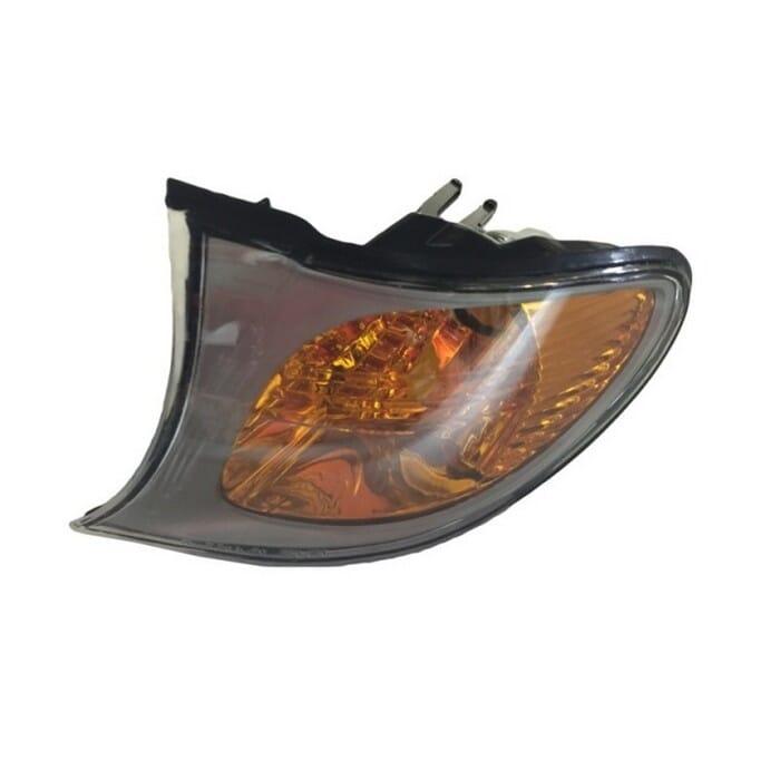 Bmw E46 Facelift Corner Light Amber And Silver Left