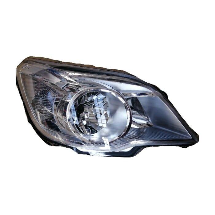Chevrolet Utility Headlight Chrome Inside Right