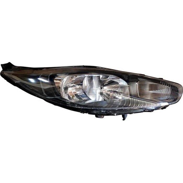 Ford Fiesta Mk 4 Facelift Headlight Black Inside Elec Right
