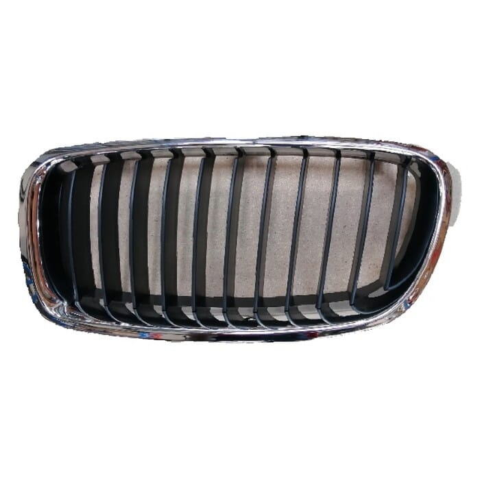 Bmw F30 Main Grill Chrome With Black Fin Left