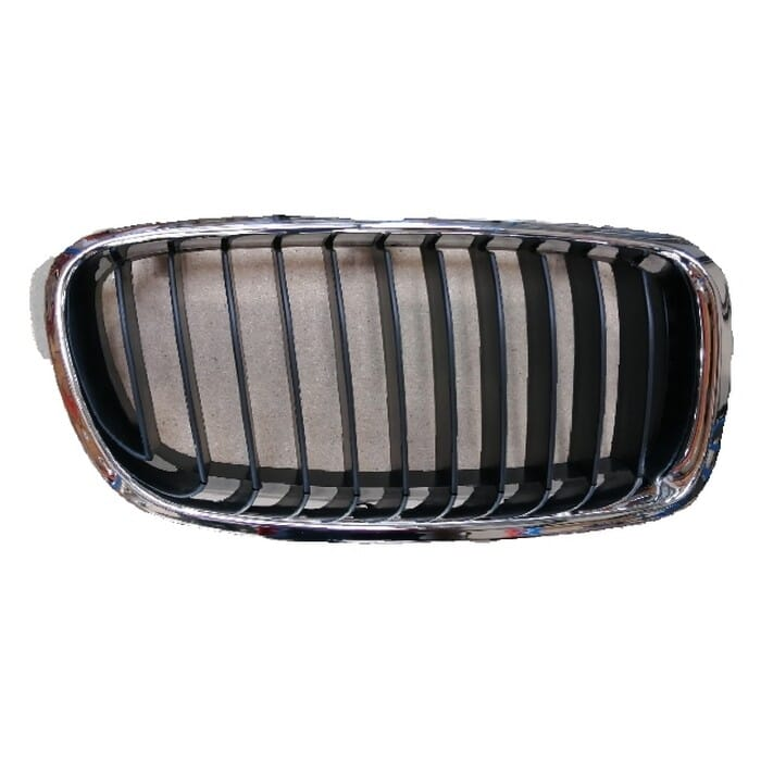 Bmw F30 Main Grill Chrome With Black Fin Right