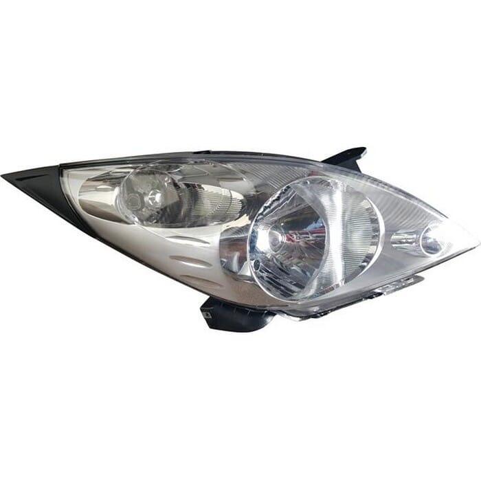 Chevrolet Spark Mk 3 Headlight Manual Right
