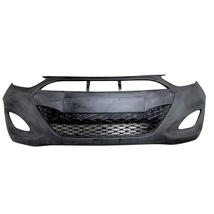 Hyundai I10 Front Bumper With Spotlight Holes (better Quality)