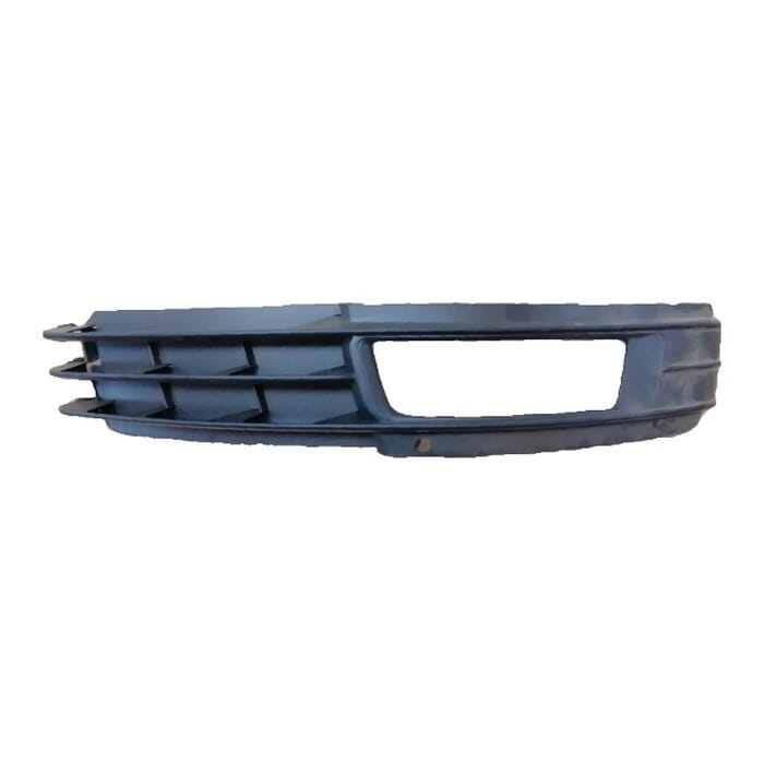 Audi A6 Front Bumper Grill With Spotlight Hole Right