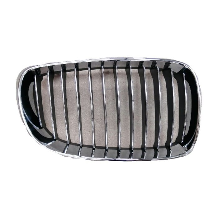 Bmw E82 2 Door Main Grill Chrome And Black Right