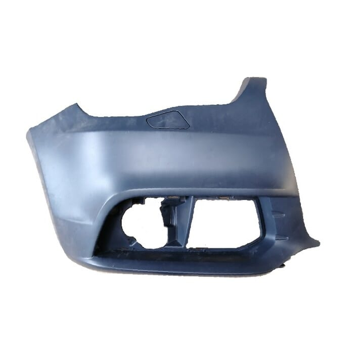 Audi A1 Front Bumper With Washer Hole Left Piece