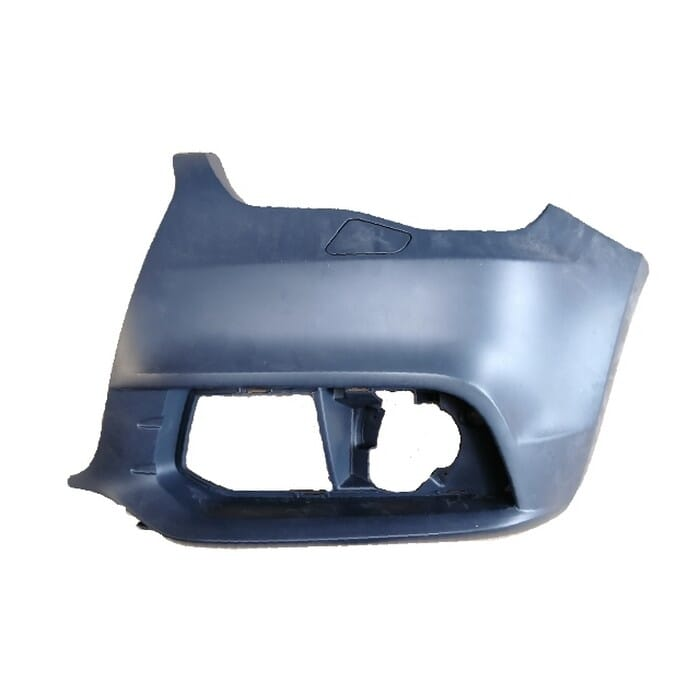 Audi A1 Front Bumper With Washer Hole Right Piece