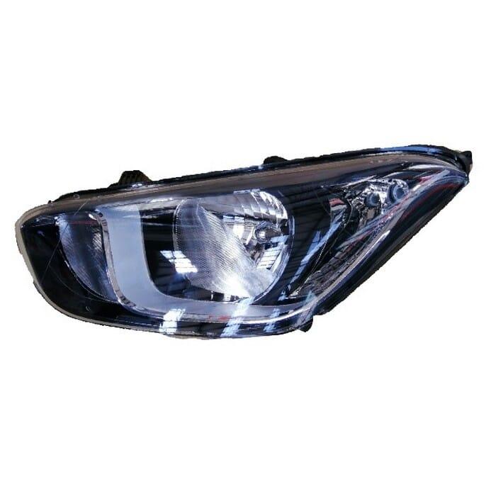 Hyundai I20 Facelift Headlight Manual Left