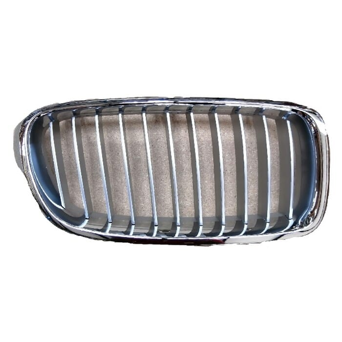 Bmw F30 Main Grill Chrome With Chrome Fin Right