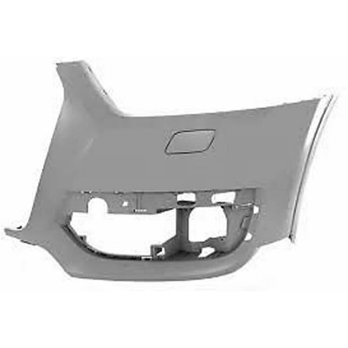 Audi Q3 Front Bumper Takes Washer Left