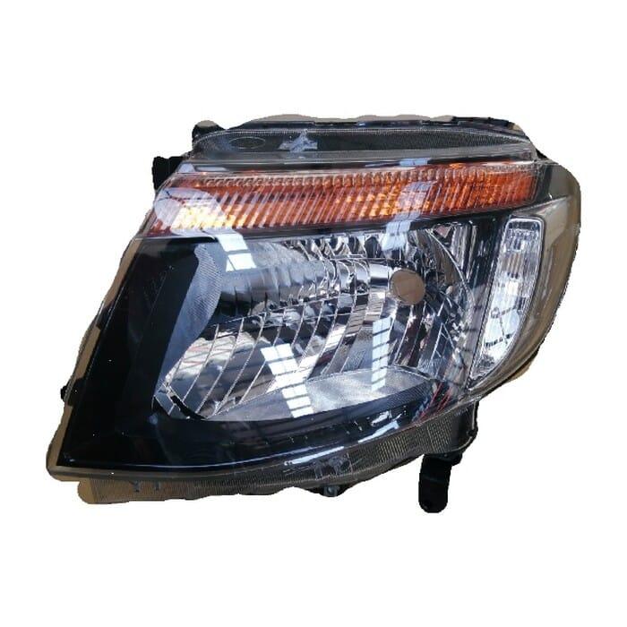 Ford Ranger T6 Headlight Black Inside Elect Adj Left