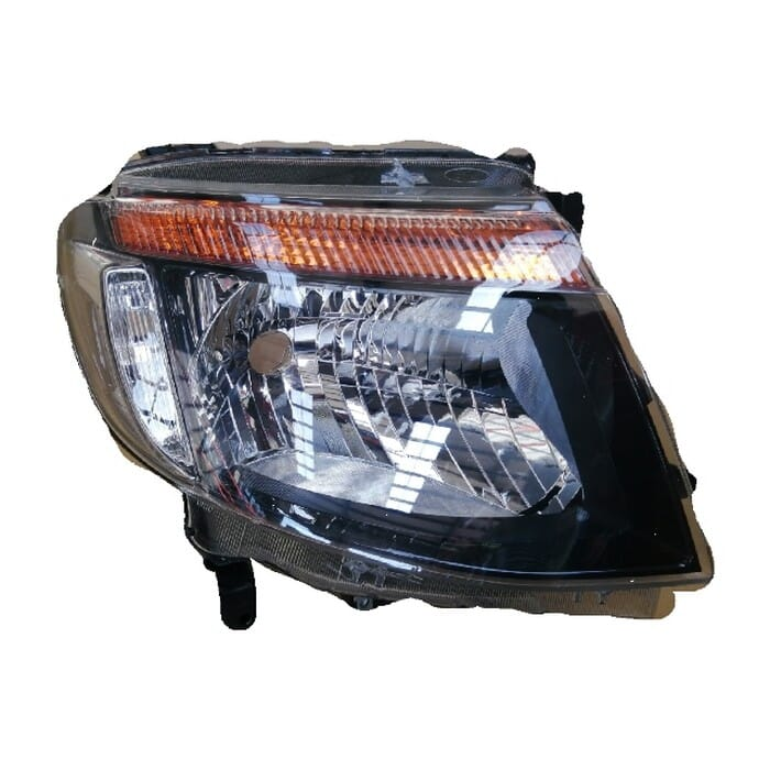 Ford Ranger T6 Headlight Black Inside Elect Adj Right