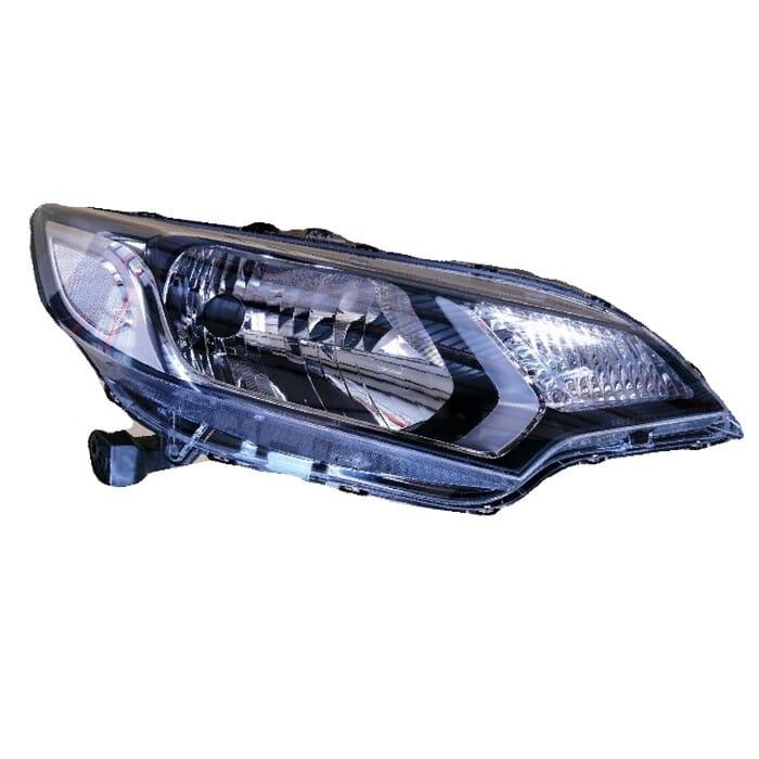 Honda Jazz Headlight Electrical, Manual Black Inside Left