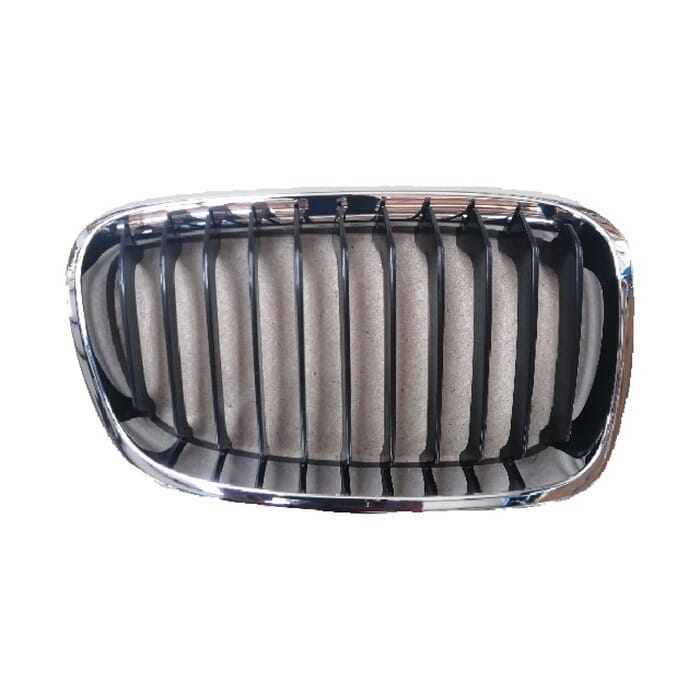 Bmw F20 Main Grill Chrome With Black Frame Right
