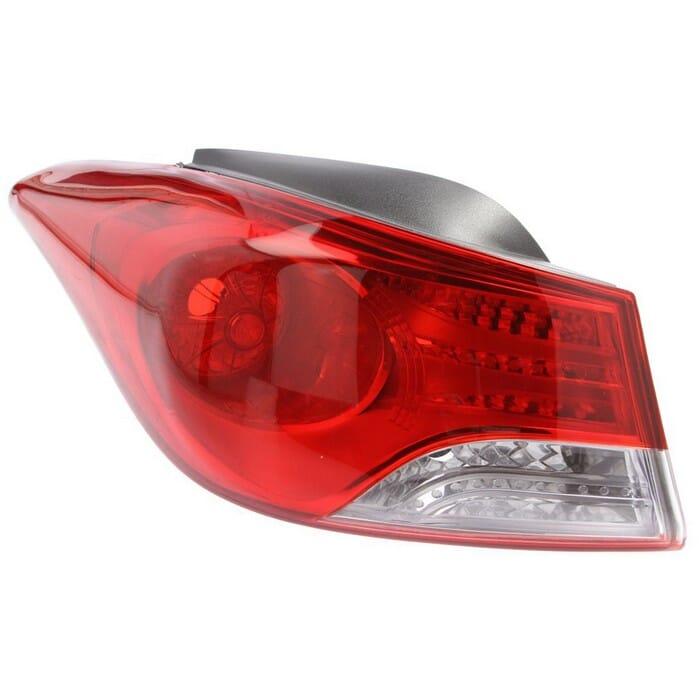 Hyundai Elantra Sedan Outer Tail Light Left