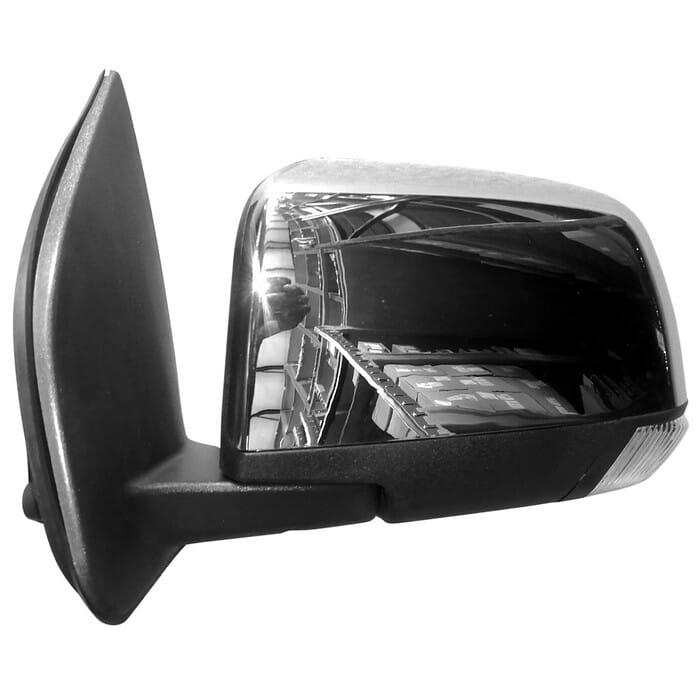 Isuzu Kb250 Kb300 Door Mirror Elec With Ind Chrome Left
