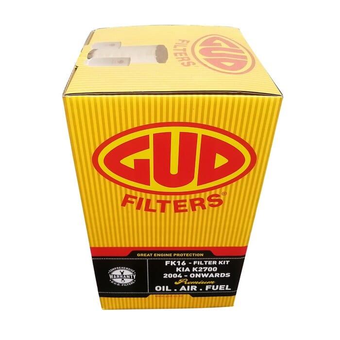 Kia K2700 Filter Kit (service Kit Air, Fuel, Oil Filter)