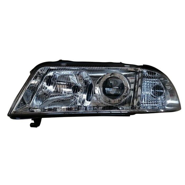 Audi A4 Headlight Takes Corner Light Left