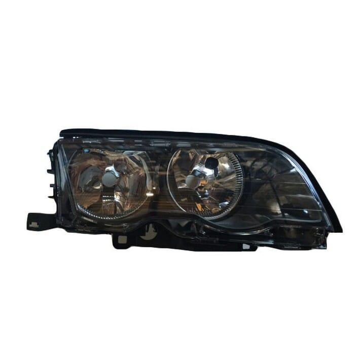 Bmw E46 Preface Headlight Black Inside Right