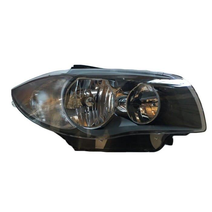 Bmw E87 1 Series Headlight Chrome Inside Right