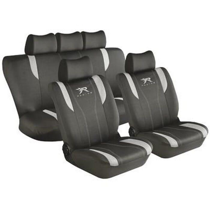 Universal 11 Pcs Car Seat Cover Sets - Tan