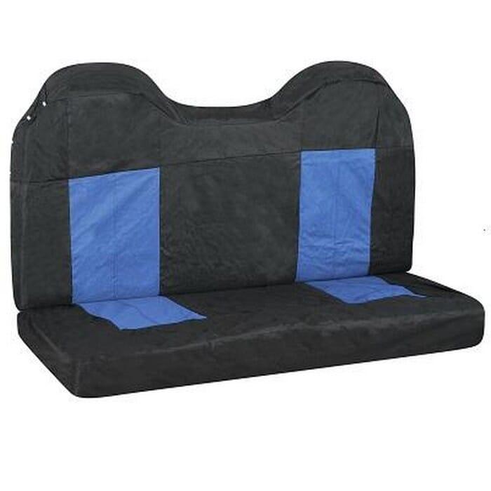 Universal Seat Cover Black Blue Rear 4X4 -