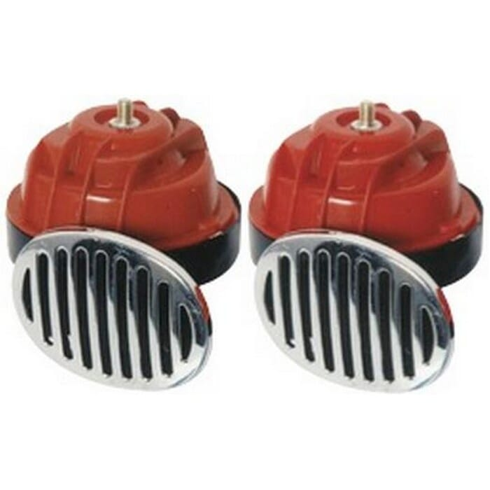 Universal 12V Twin Horn 90mm Wout Relay