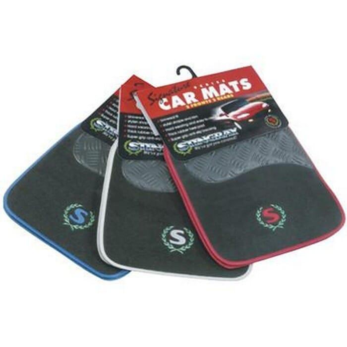 Universal Stingray Carpet Car Mat Set -Blue