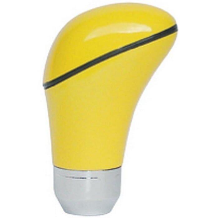 Universal Gear Shift Knob Yellow