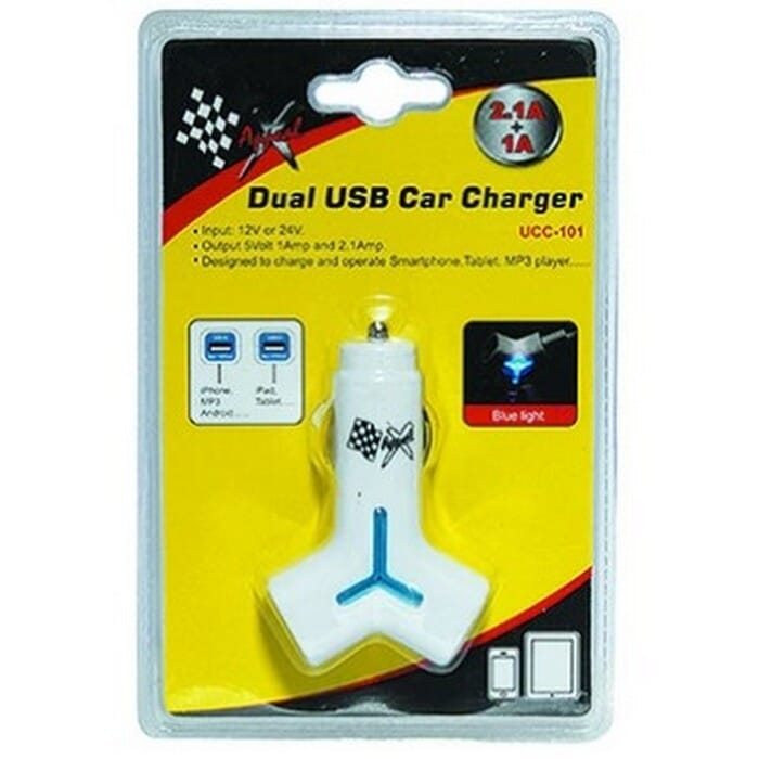 X Appeal USB Car Charger - Dual