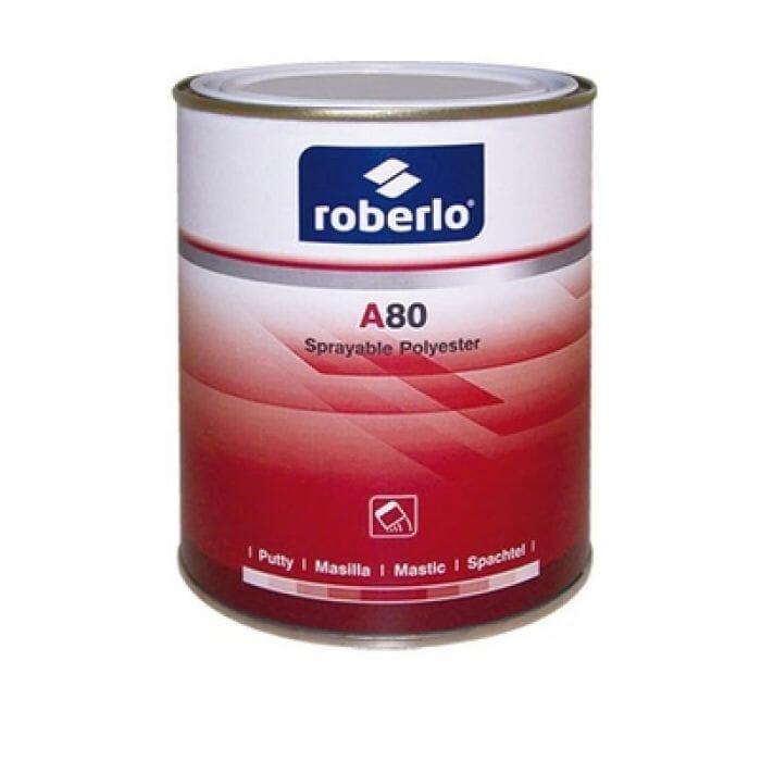 Roberlo A-80 Spray Filler Putty - 1lt