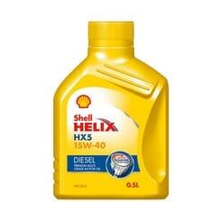 Universal Oil Shell Hx5 Oil 15w40 Diesel 500ml