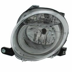Fiat 500 Headlight Electrical Right