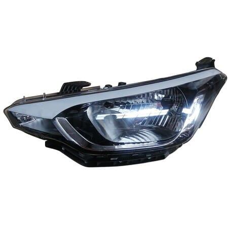Hyundai I20 Headlight Manual Left