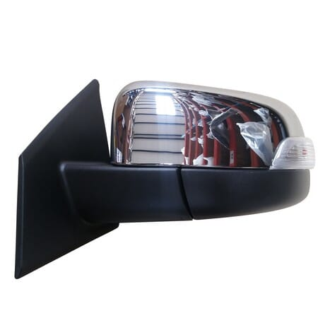 Mazda Bt50 Door Mirror Electrical With Indicator Chrome Auto Fold Left