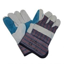 Pinnacle Candy Stripe Rigger Glove Blue Palm