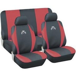Universal Seat Cover (6 Piece)Red