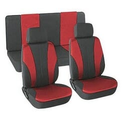 Universal Seat Cover (6 Piece) - Red