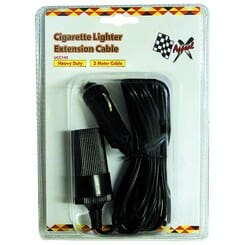 X Appeal Cigarette Lighter with Extension Cable