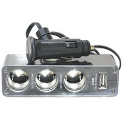 X Appeal Triple Socket with USB Port